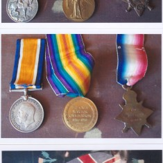 WW1 medals of Late Frank Swan of High St | (Deacon)