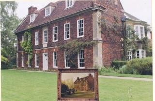 C 18th Harston House facing The Green | (Deacon)
