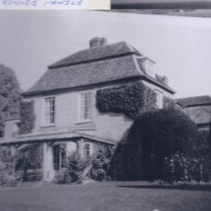 Harston Manor early photo probably when owned by Rowley family | (Deacon)