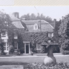 Harston Manor early phots probably when owned by Rowley family | (Deacon)