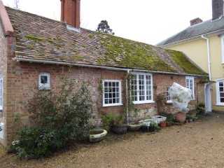 Old service wing-store rooms& scullery behind Harston House | (Roadley)
