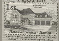 Moorfield originally to be called Harewood Gardens 1996