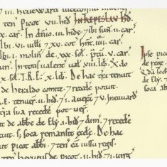 Harston in the  Domesday book 1086