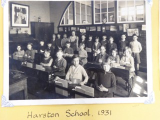 Harston school 1931 | (Sellen Scrapbook-Cambridge Collection)