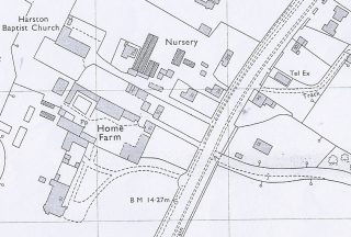 1971 location of Manse at 94 High St | (Cambridge Collection)