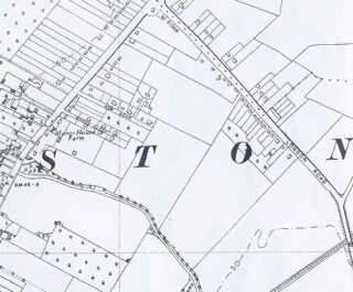 1946 OS revised OS map for Manor House farm area