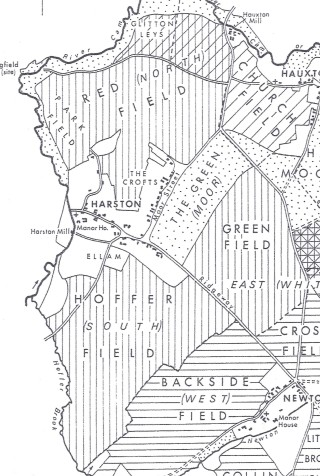 Medieval 3 Field System   Extract from the History of Cambridgeshire