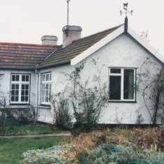 The house and front garden as it was in 1988  | (A Thornton)