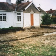 The beginnings of the main extension built in 1993  | (A Thornton)