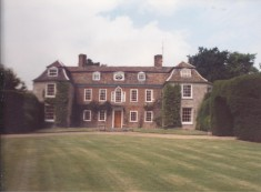 The present Manor House in 1988