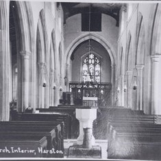 All Saints Parish Church interior | (Deacon)