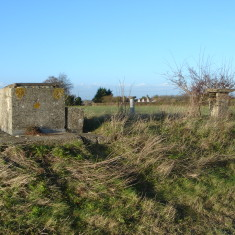 2014. ROC Bunker. Structure above ground.   (Griffin)
