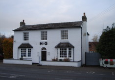49 High Street once The Green Man