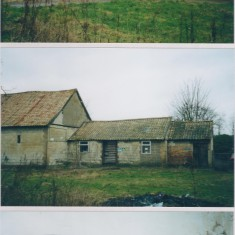 Date unknown. Home Farm stables, barns etc prior to renovation. (Enlarge photo) | (Deacon)