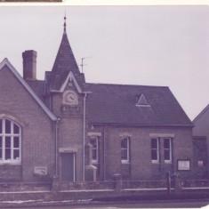 1939 - 1945. School showing handrailings removed for WWll war effort.. | (Deacon)
