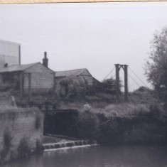 Harston Mill rear, locks, bridge | (Deacon)