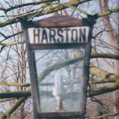 Station Rd old platform lamp now in Tiptofts garden | (Deacon)