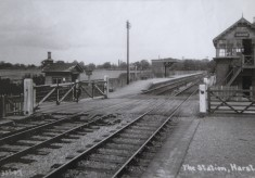 Harston Railway Station