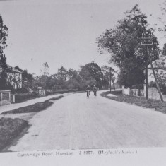 Early C20th Cyclists along the High St with no 94 on right | (Deacon)