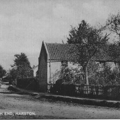 Cottages early 1900s where 68 & 70 Church Street are now. | (Pevley)