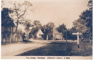 Swan Green pre 1928 + signposts   (Deacon)