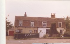 Hill View Cottage,72 Church St (to right) where the Sign of the Gate once traded. 76 to left.