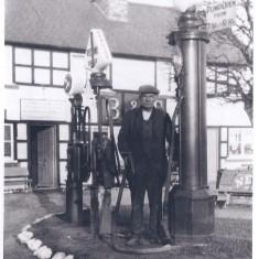 No 21 High Street - Redline & Shell petrol manned by Bill Ward 1930s | (Deacon)