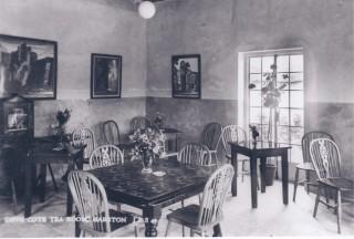 No 21 High Street - inside Dovecote Tearooms. | (Deacon)