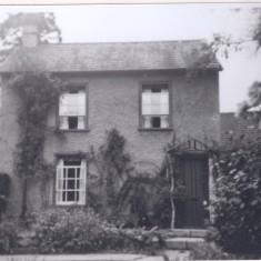 No 59 High St Castle Cottage adjacent Premier Travel garage 1950  | (Deacon)