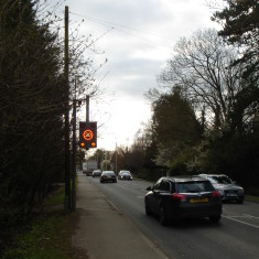 Speed Sensor Verge No 154 High St A10 east 2015 | (Griffin)