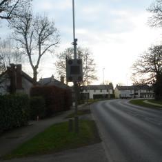 Speed Sensor Verge No 8 High Street A10 east 2016 | (Griffin)