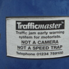 Trafficmaster trafic monitor No 87 High Street east 2016 | (Griffin)