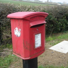 EllR letter box Cambridge Rd north of London Rd junction 2015  | (Griffin)