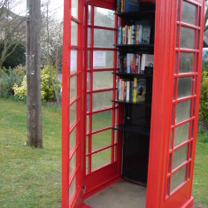 #3 Telephone Box45 London Rd now Library March 2015  | (Griffin)