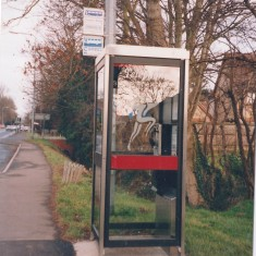 #6 Telephone Box High St by School 1995  | (Deacon)