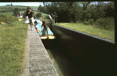 1972 Scout Grand Union Canal Trip Camp