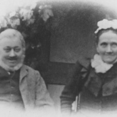 Josiah & Phoebe Ashby late 1800s | (Folbigg)