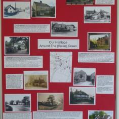 Harston's heritage around The (Swan) Green | (Roadley)