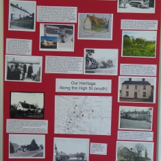 Harston heritage in High St (South) | (Roadley)
