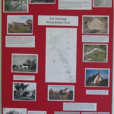 Harston's heritage along Button End | (Roadley)