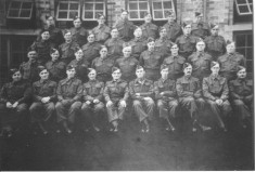 Home Guard: Harold Northrop 2nd row from back, 5th from left
