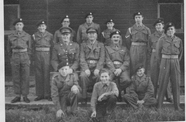 Hauxton Cadets about 1953-4 | (J Arbon)