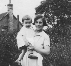 Brian with mother florrie Arbon about 1937/8