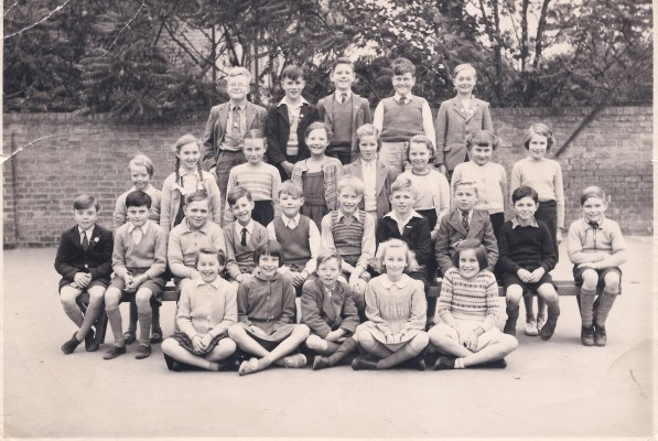 School class around 1952-5 | (C Marriott)