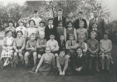 Mr Shoote's Class around 1960-62
