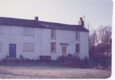 1 & 2 Fleece Cottages, Button End once The Fleece Inn