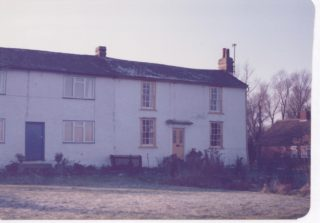Fleece Cottages in sorry state before renovated and extended   (Deacon)