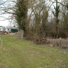 Previous site of old bus on Willow Farm | (Griffin)