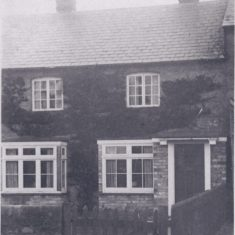 Old view of Fountain Cottage. Door to right added, then replaced by window. | (Deacon)