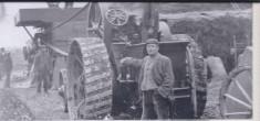 1860s threshing machine equipment owned by tom & Fred Newling